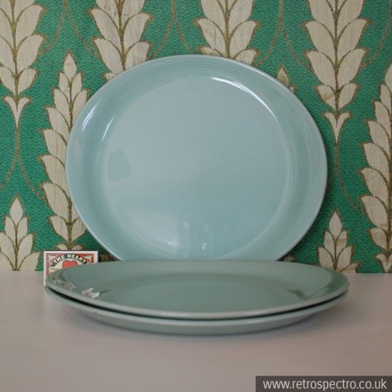 Wood's Ware Beryl Steak Plate