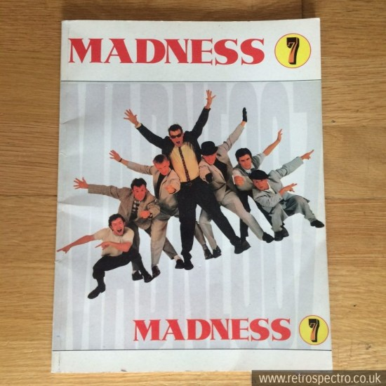 Madness 7 song book