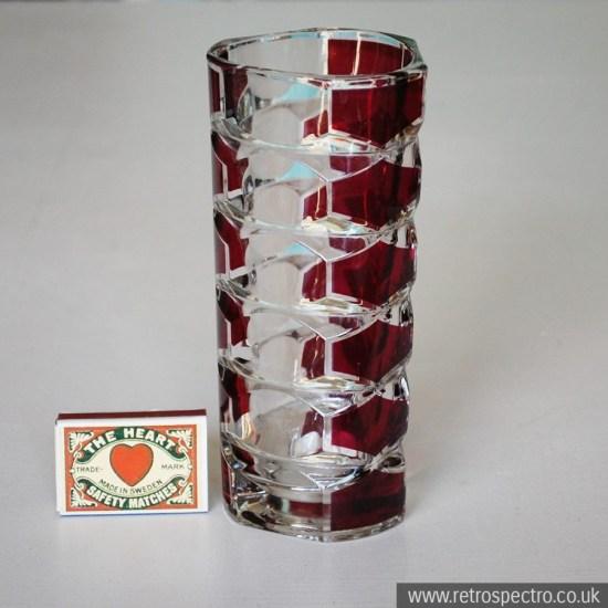 Vintage St Michael Glass Vase