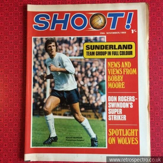 Shoot Football Magazine 1969