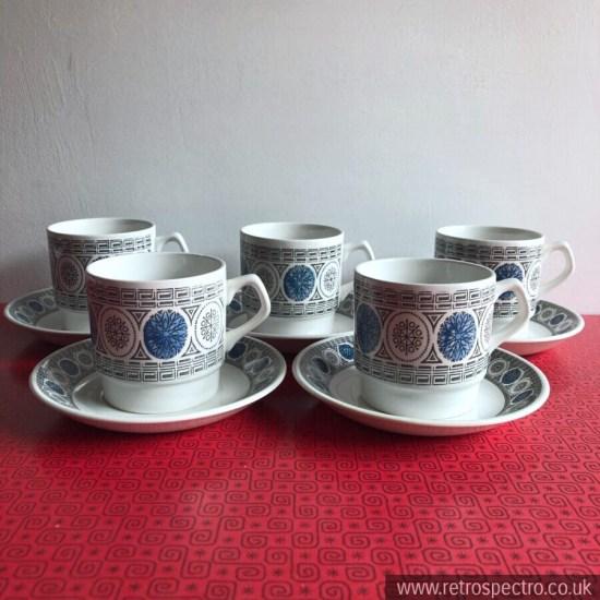 Biltons Staffordshire Cups & Saucers