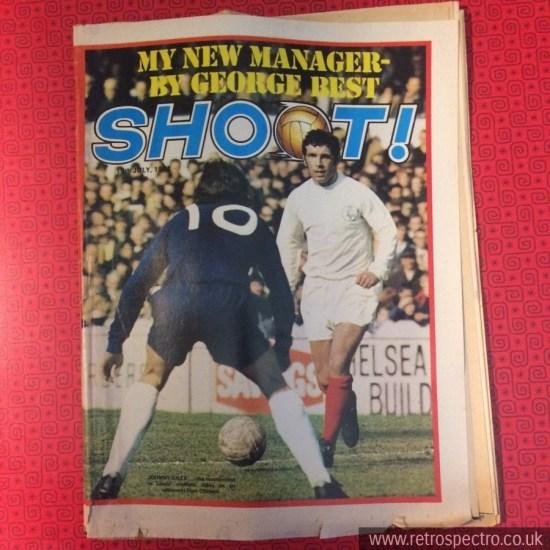 Shoot Football magazine 1971