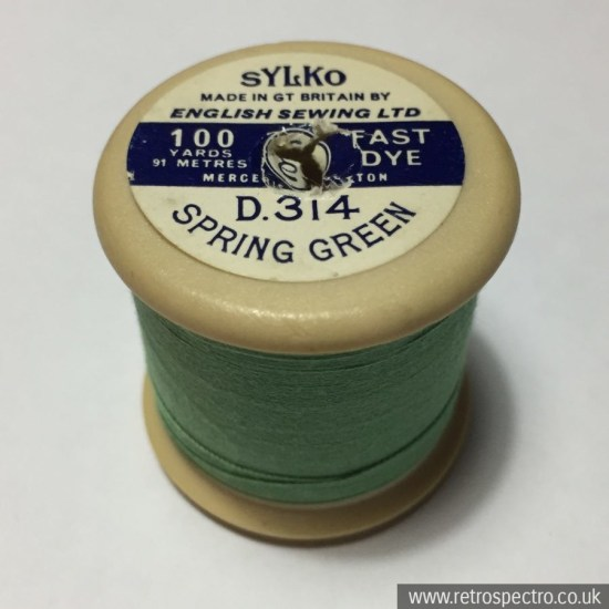 Sylko Cotton Reel Spring Green D.314