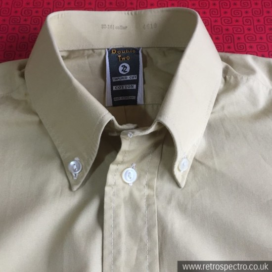 Double Two Button Down Shirt