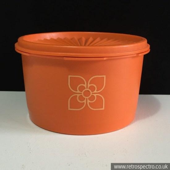 Tupperware Orange Container