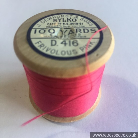 Dewhurst's Sylko D.416 Frivolous Pink