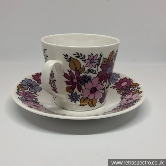 Elizabethan Portobello 2 cup and saucer