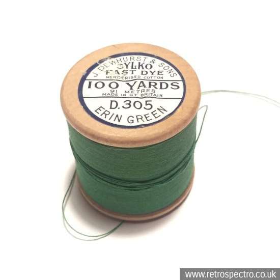 Sylko Cotton Reel D.305 Erin Green