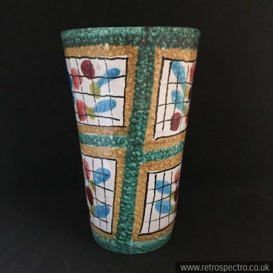 Fratelli Fanciullacci Italian Mid Century Vase
