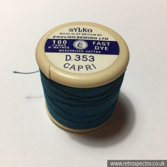 Sylko Cotton Reel Capri D.353