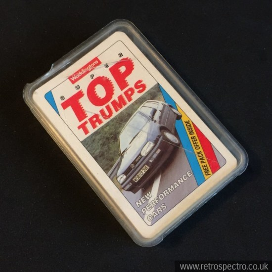 Super Top Trumps New Performance Cars