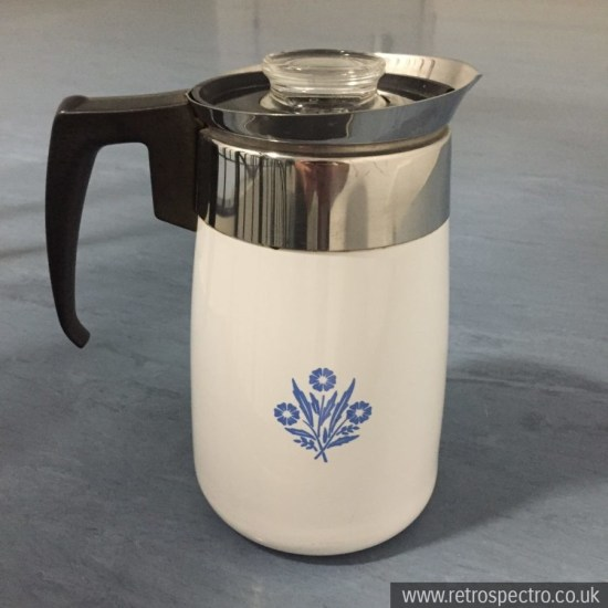 Pyrosil Enamel Coffee Percolator