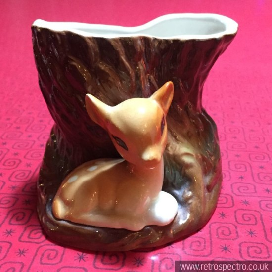 Hornsea Royal Fauna deer figure vase