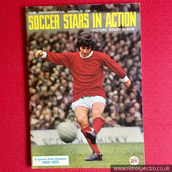 Soccer Stars In Action Picture Stamp Album