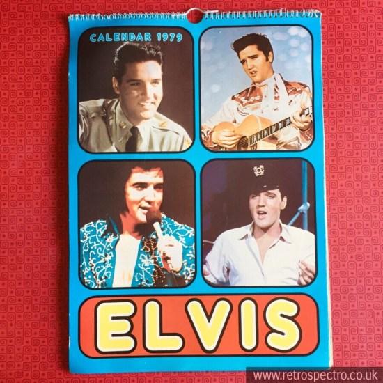 Elvis Presley calendar 1979 Vintage
