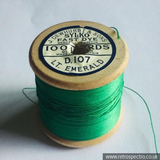 Sylko Cotton Reel D.107 Light Emerald