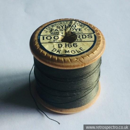 Sylko Cotton Reel D.166 Dark Mole