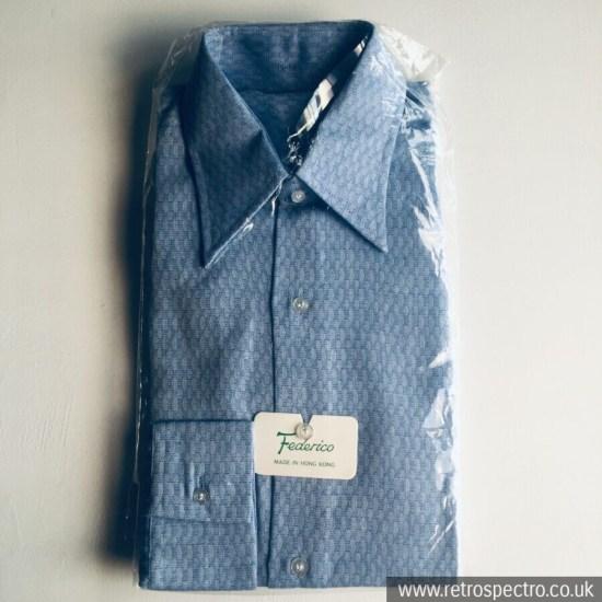 Federico dagger collar shirt early 70's