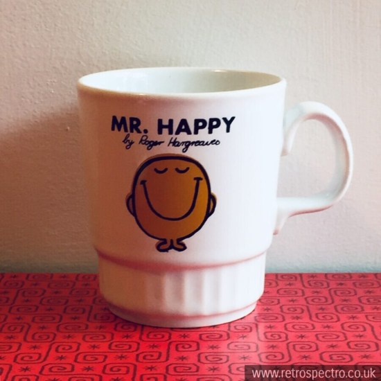 Mr Men Mr Happy Mug by Kiln Craft circa 1979