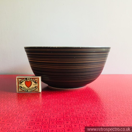 American Pyrex Terra pattern Bowl Rare mid 60's