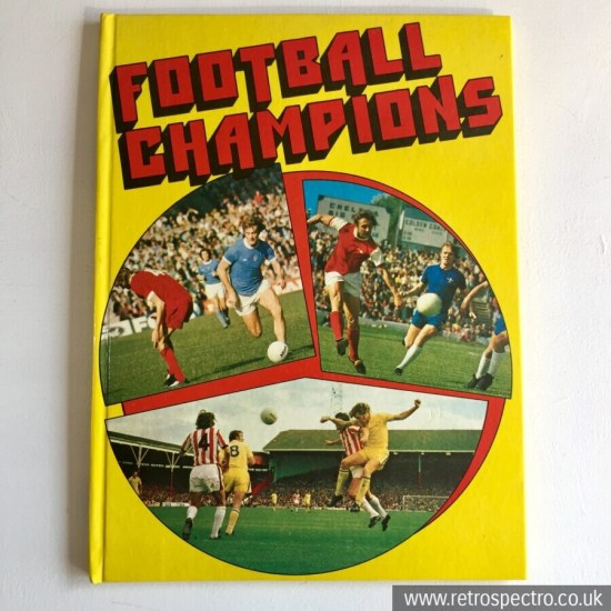 Football Champions Book 1975