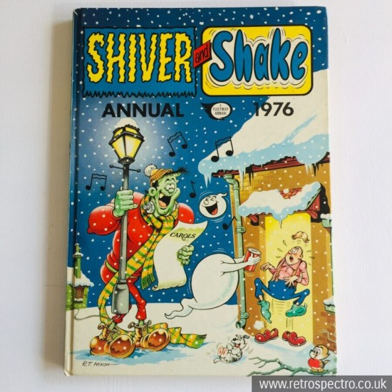 Shiver And Shake Annual 1976 Fleetway Vintage Cartoons