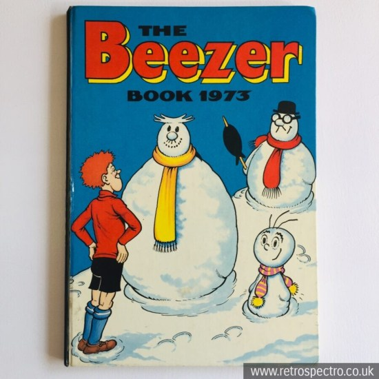 The Beezer Annual 1973 vintage comic strips kids