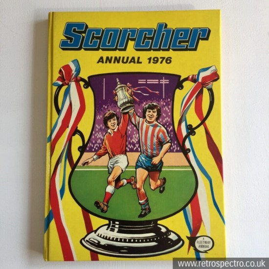 Scorcher Annual 1976 Hardback by Fleetway Football