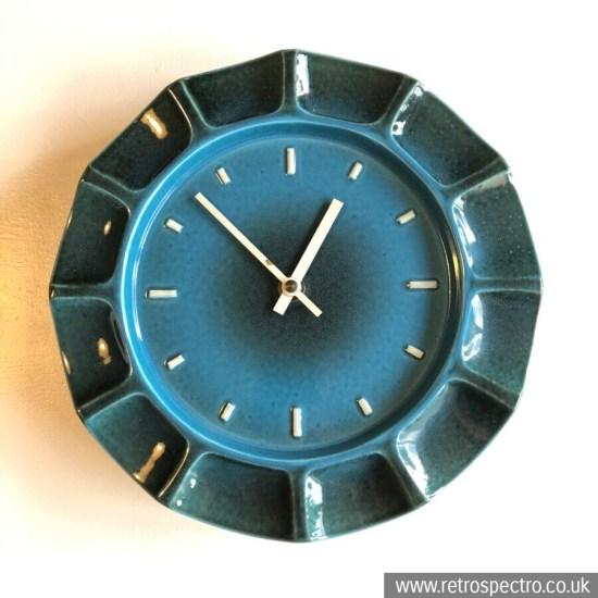 Metamec Ceramic Wall Clock