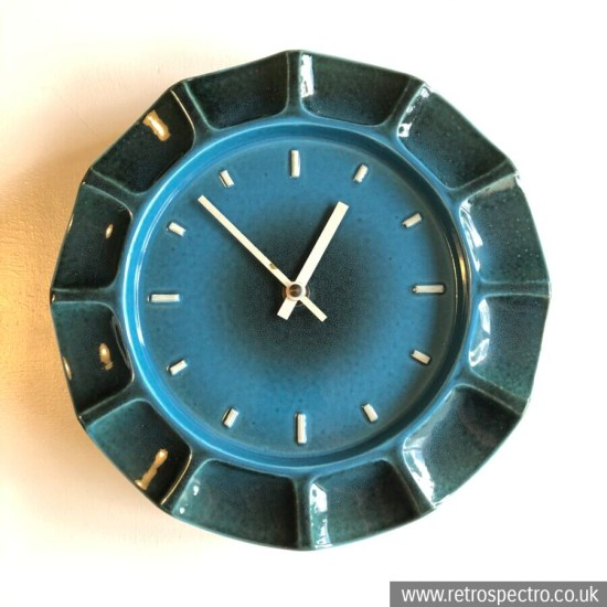 Metamec Ceramic Wall Clock