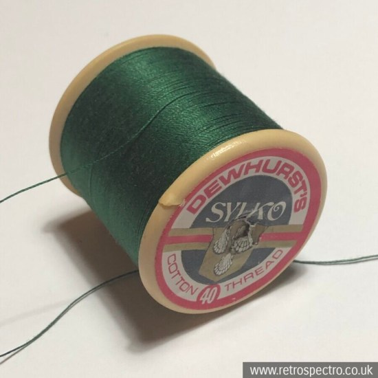 Sylko Cotton Reel D216 Emerald Green
