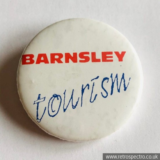 Vintage Barnsley Tourism Badge
