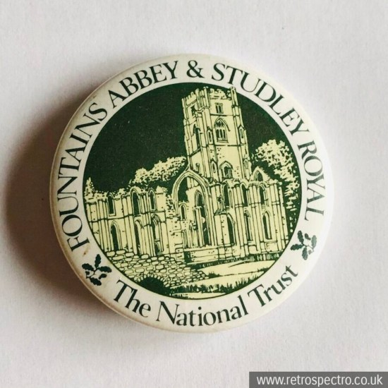 Vintage Fountains Abbey & Studley Royal Badge