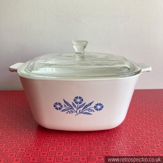 Pyrosil Ware Blue Cornflower 2.5 Pint Casserole Dish