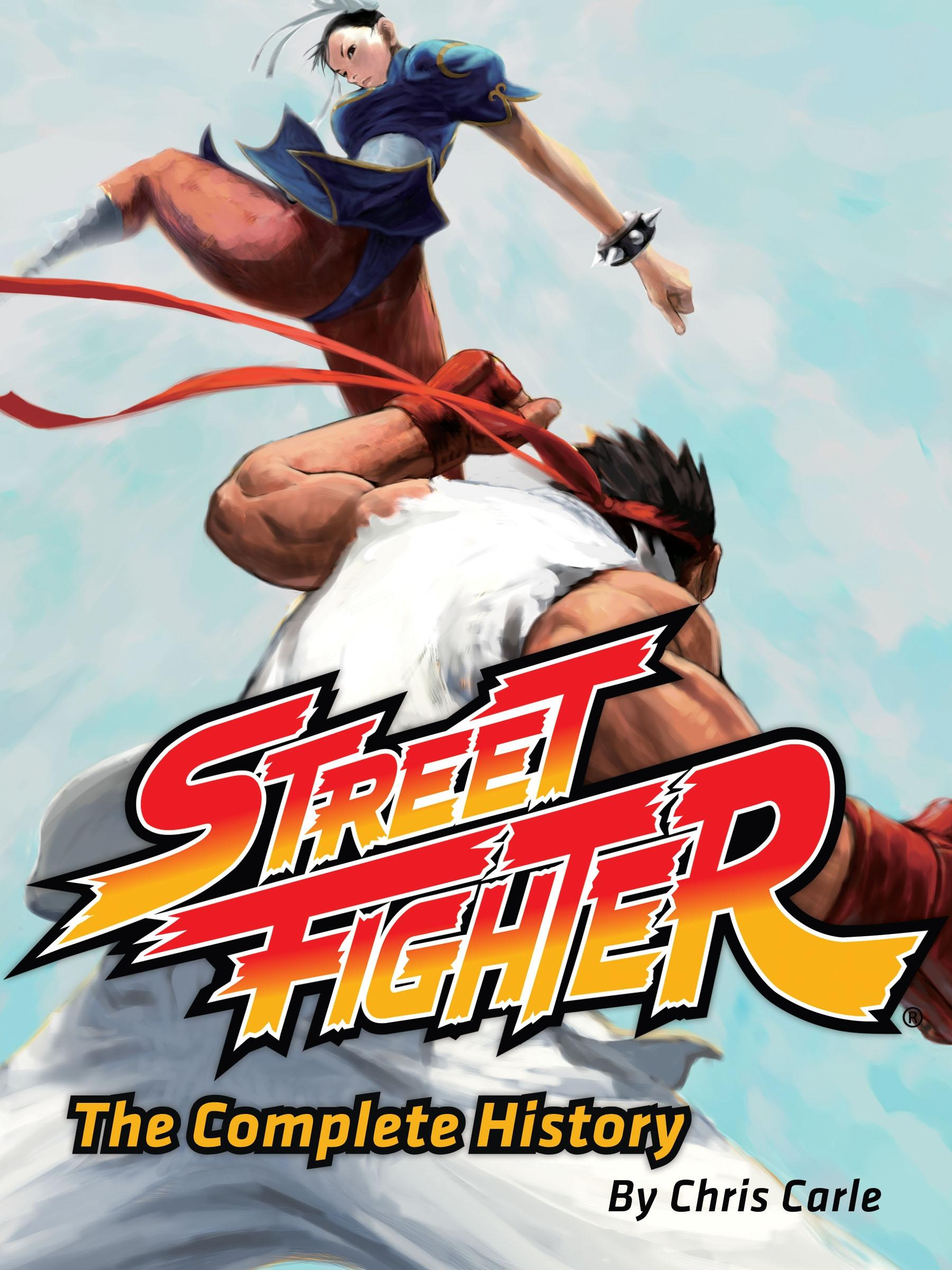 Book Review: Street Fighter: The Complete History by Chris Carle.