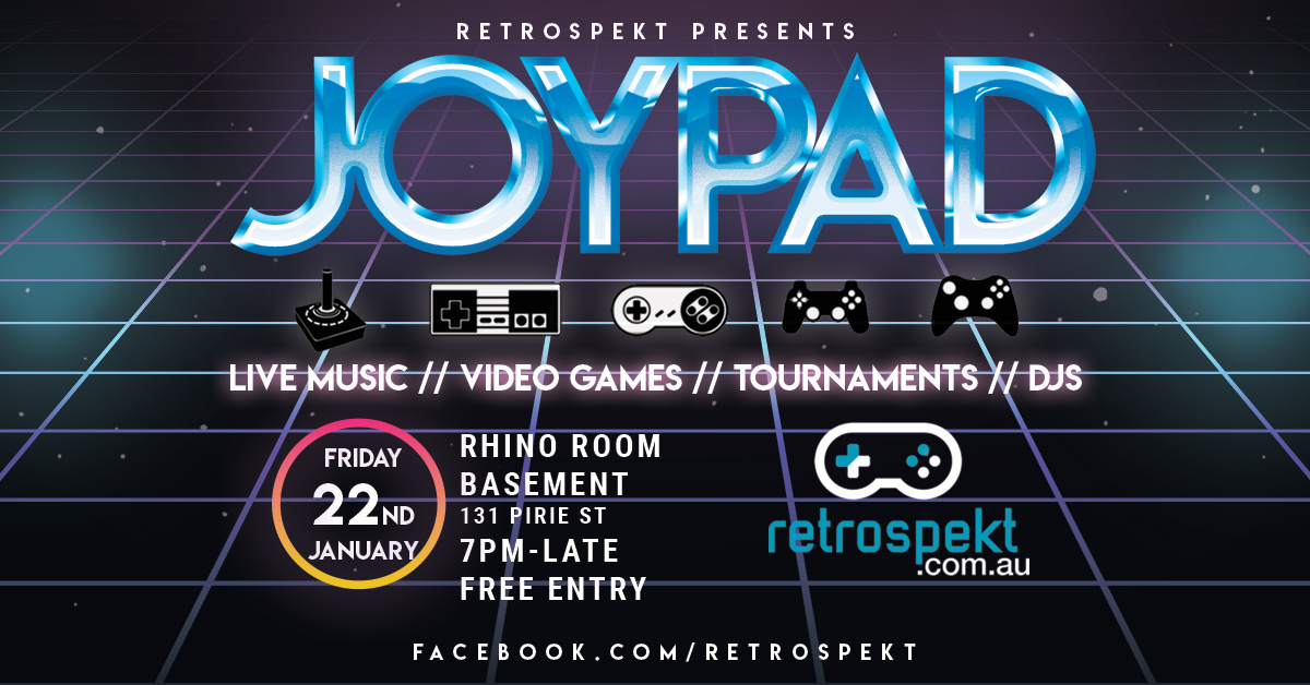 JoyPad – Summer 2021 Edition – Friday 22 January @ Rhino Room