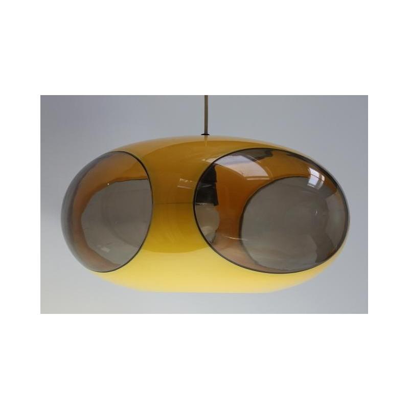 Luigi Colani hanglamp geel  Retro Studio