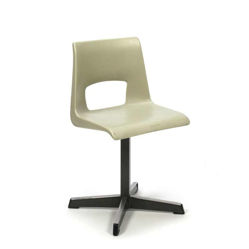 Vintage school chair for kids plastic  Retro Studio