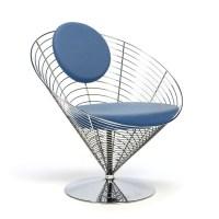 Vintage Wire Cone chair design Verner Panton - Retro Studio