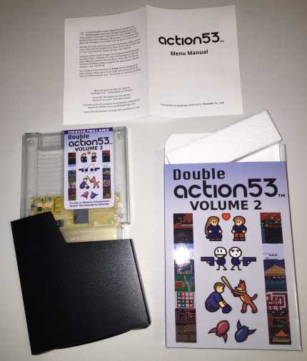 double action game Nes vol 53