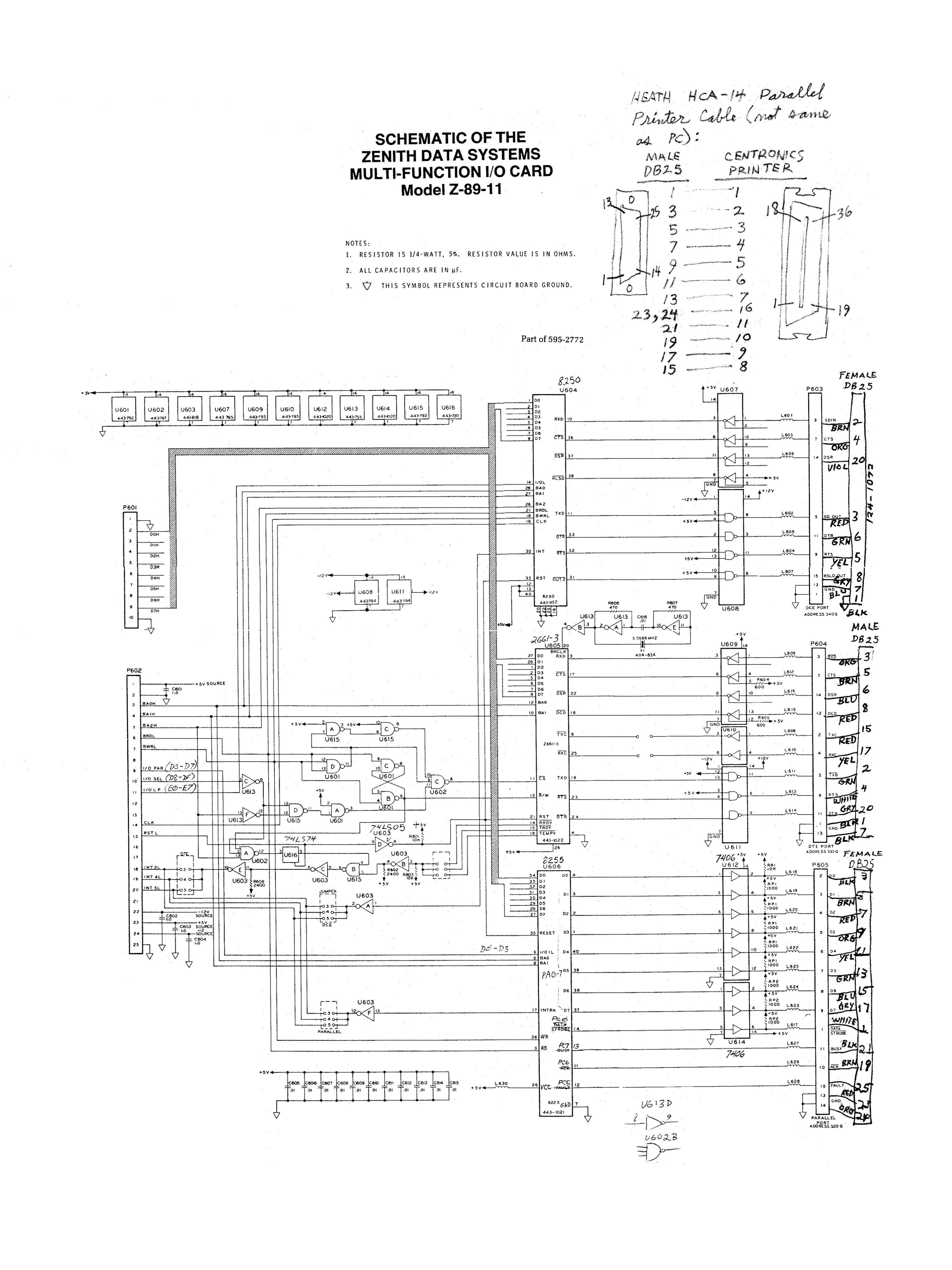 Heath Zenith H-89 boards