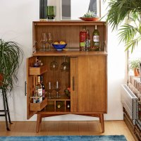 Mid-Century Bar Cabinets at West Elm