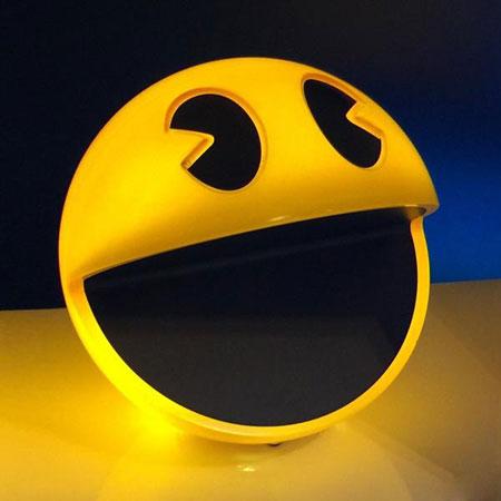 Old school lighting Pacman Sound Chip Lamp