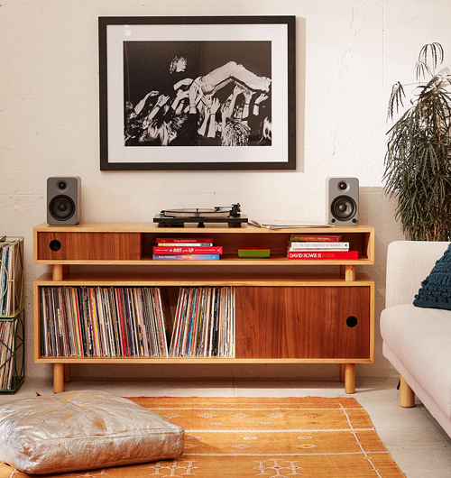 Hamilton retrostyle media console at Urban Outfitters