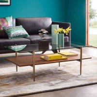 Midcentury-style Art Display Coffee Table at West Elm