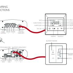 Bt Wall Socket Wiring Diagram 50 Boutique T2000 White Audio System Bluetooth Usb Charger
