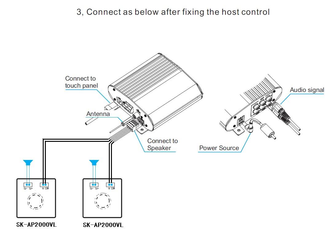 RetroTouch T2000 Brushed Aluminium Volume Controller Low