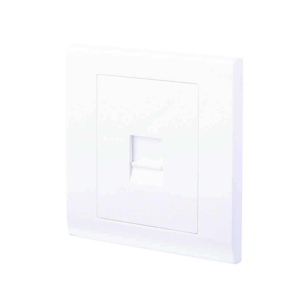 hight resolution of simplicity single bt master telephone socket white