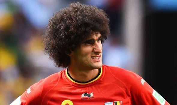 Man United fans react over  Marouane Fellaini's exit rumours on twitter