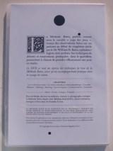 Verso DVD Méthode Bates